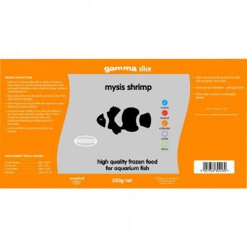 Mysis Shrimp Bulk Slice Pack